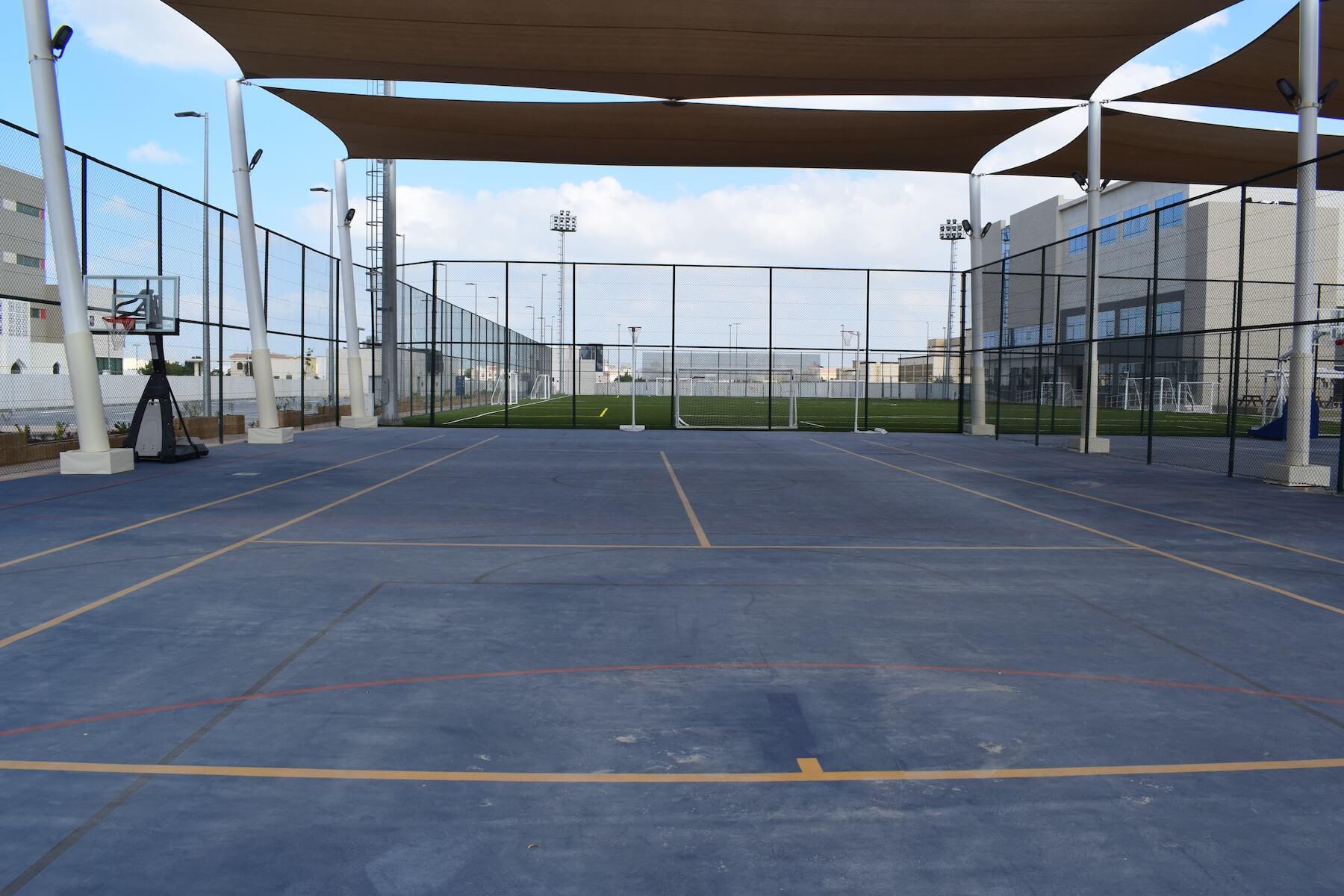 Basketball and Tennis Court.JPG